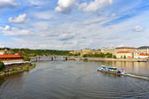 Prague's Bridges — Stock Photo