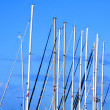 Sailboat mast — Stock Photo #3417103