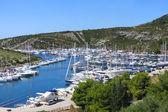 Adriatische kust landschap — Stockfoto