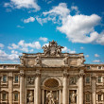 The Trevi Fountain — Stock Photo