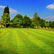 A beautiful Golf Course - Stockfoto