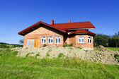 New house and green nature — Stock Photo
