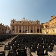 St. Peter's Basilica, VaticCity — Stock Photo #3639885