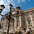 Trevi Fountain - famous landmark in Rome — Stock Photo #3639940