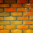Red brick wall background — Stock Photo #3666090