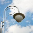 Street lamp on blue sky — Stock Photo #3707811