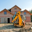 New house building — Stockfoto