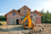 New house building — Stock Photo