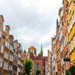 Old town in Gdansk - Stock Photo