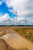 Větrná farma — Stock fotografie