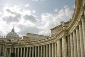 Saint Peters Basilica, Roma — Stock Photo