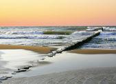 Deniz günbatımı manzara — Stok fotoğraf