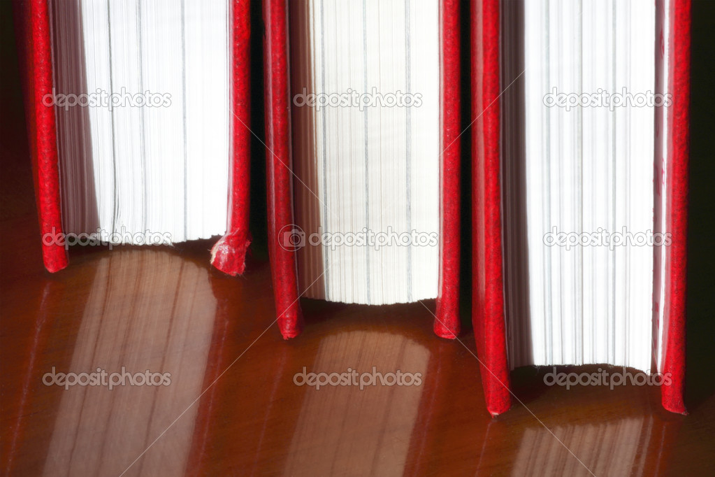 Red books  Stock Photo #3887698