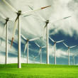 Windmill, eco energy - Stock Photo