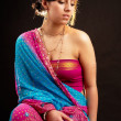 Indian woman - Stock Photo