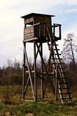 Dřevěná konstrukce — Stock fotografie