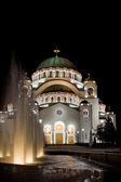 Temple of St Sava — Stock Photo