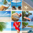 Tropic collage — Stock Photo #2764492
