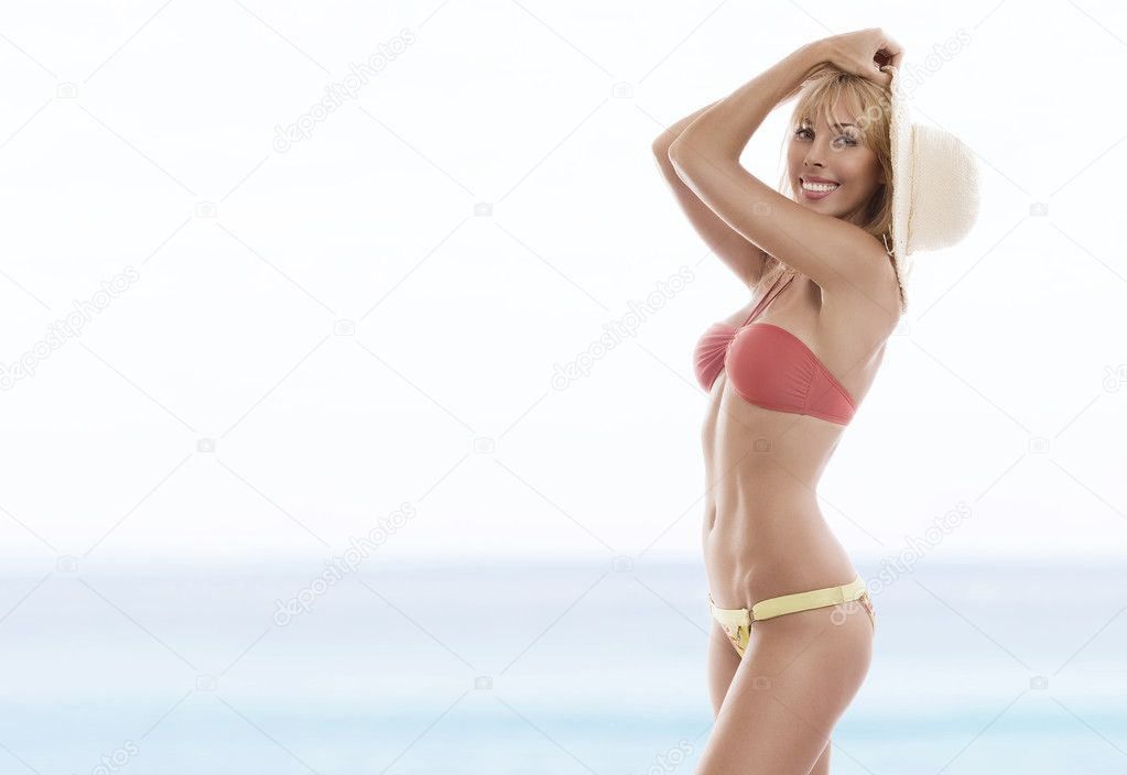 View of nice woman  having fun in summer environment  Stock Photo #2778800