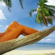 Tropic relaxation — Stock Photo