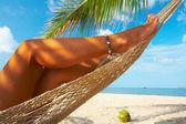 Coconut swing — Stock Photo