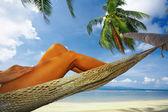 тропический отдых — Стоковое фото