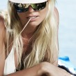 On beach — Stock Photo