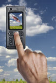 Telefon — Stockfoto