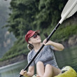 Stock Photo: Kayak