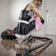 House maid — Stock Photo