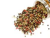 разноцветные перец горошком — Стоковое фото