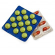 Tablets and capsules_2 — Stock Photo