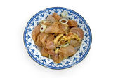 Chicken with spices — Stock Photo