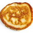 Golden pancake — Stock Photo