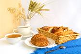 Tea buns — Stock Photo