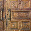 Old decorated double doors — Stock Photo