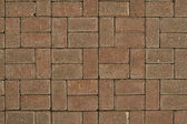 The pavement of tiles — Stock Photo