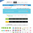 diseñadores web toolkit premium — Vector de stock