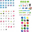 Mixed icons — Stock Vector #3052067