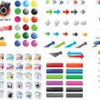 Mixed icons — Vector de stock #3052069