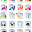 Designer-Toolkit-Reihe - Web 2.0-icons — Stockvektor