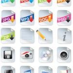 tasarımcılar toolkit serisi - web 2.0 simgeleri — Stok Vektör