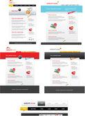 Modelos da web — Vetorial Stock