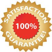 Garantía de satisfacción — Vector de stock