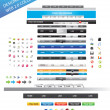 Designers toolkit - web 2.0 collection - Stock Vector