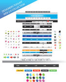 Designers toolkit - web 2.0 collection — Stock Vector