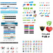 Royalty-Free Stock Imagen vectorial: Web designers toolkit - premium collection 2