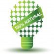 Environmental lamp — Stock Vector
