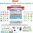 Web designers toolkit - premium collection 3 — Stock Vector #3399605