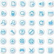 Royalty-Free Stock Vector Image: Universal icons